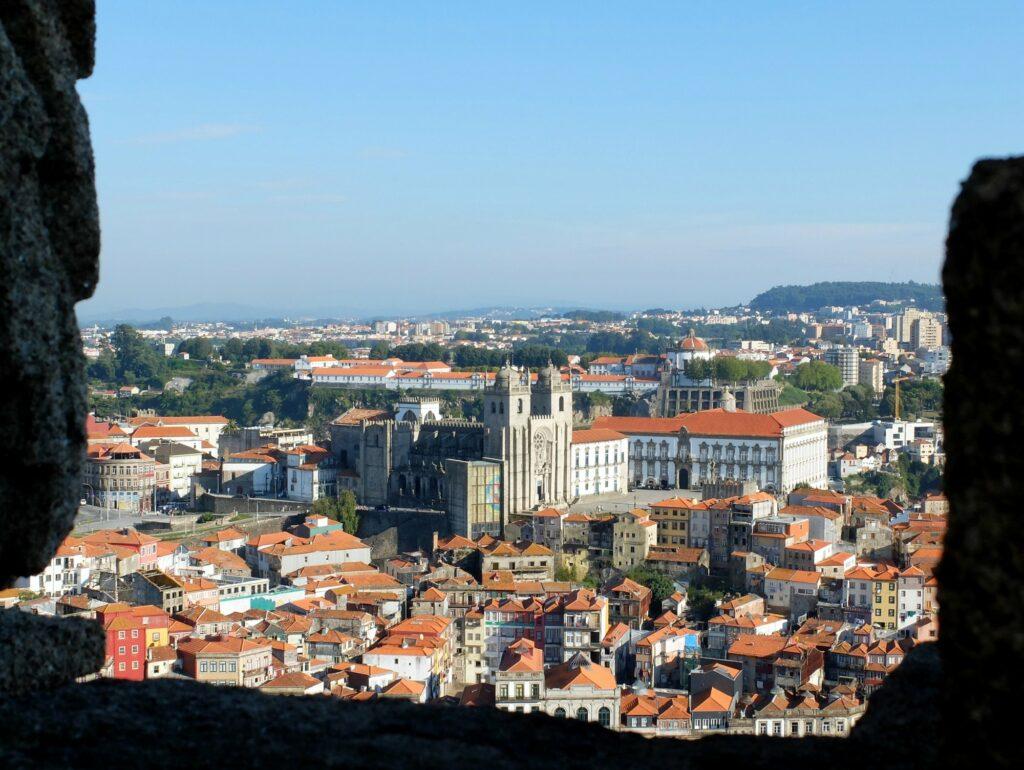 Vue sur Porto depuis la Tour des Clercs