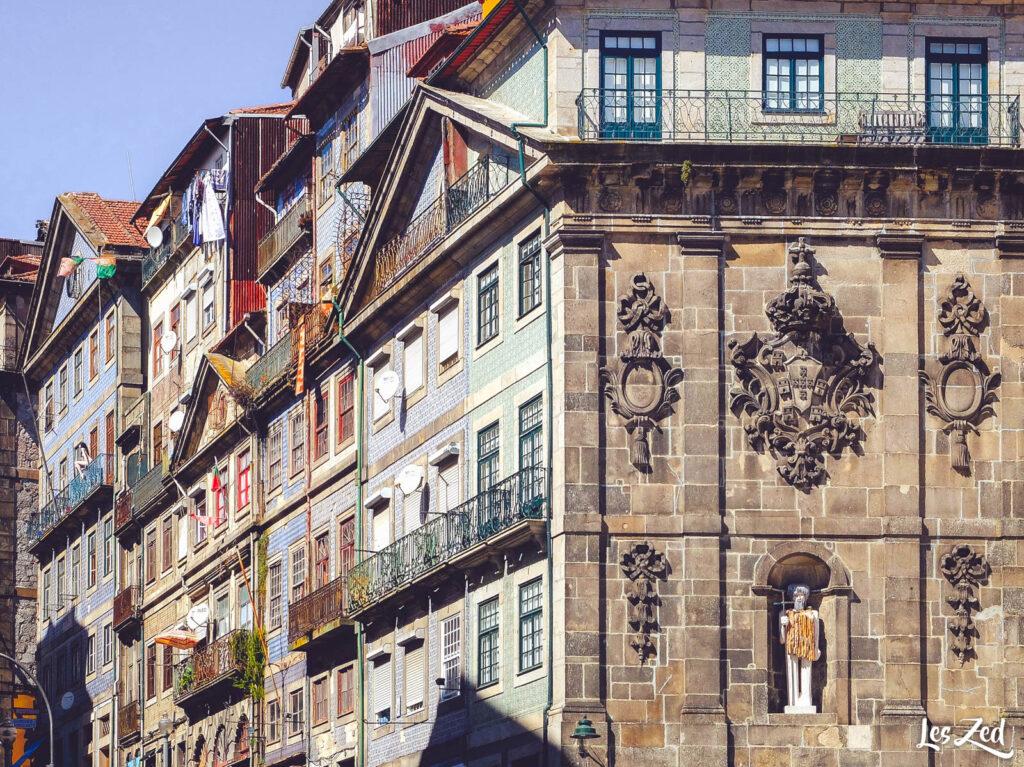 Porto Ribeira - Architecture colorée
