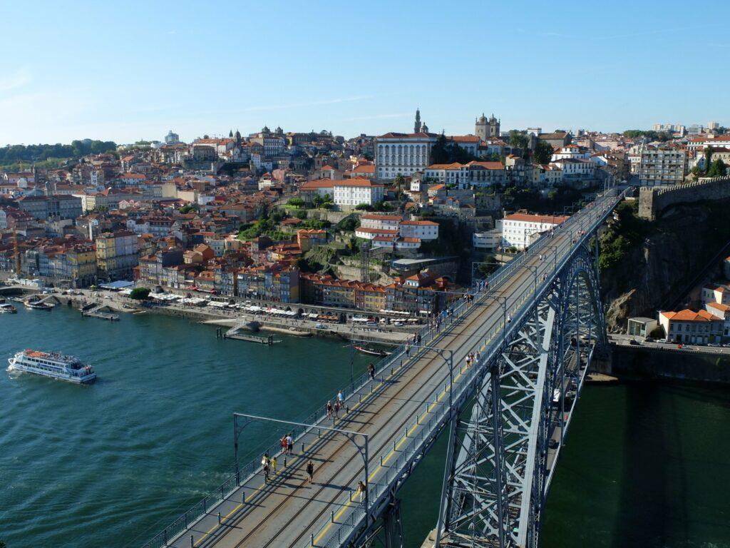 Pont Luis, vu depuis le Mosteiro da Serra do Pilar