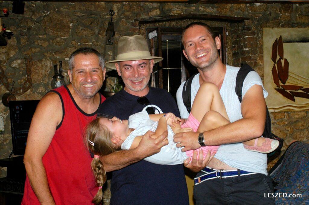 Pierro, Marco, Max ... et Chloé