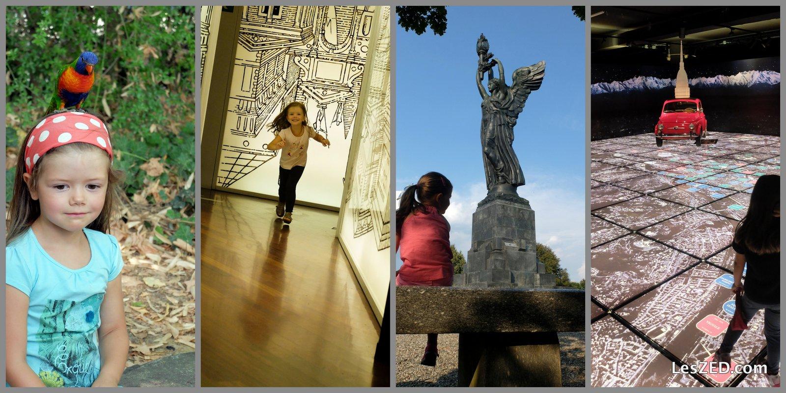 Turin - visites et activités avec un enfant
