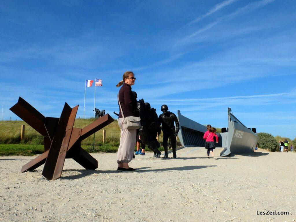 Musée du débarquement de Utah Beach : bateau