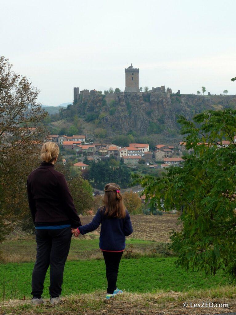 La forteresse de Polignac