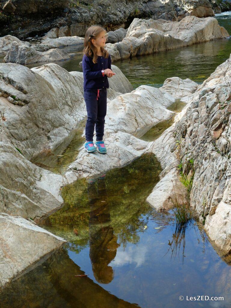 Reflet dans l'Ardèche