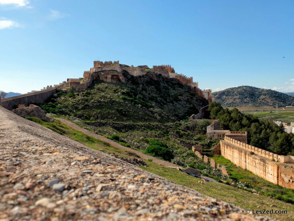 Le château de Sagonte (Castillo de Sagunto)