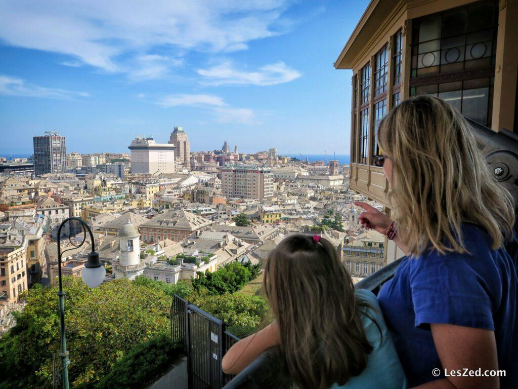 Panorama depuis Spianata Castelletto