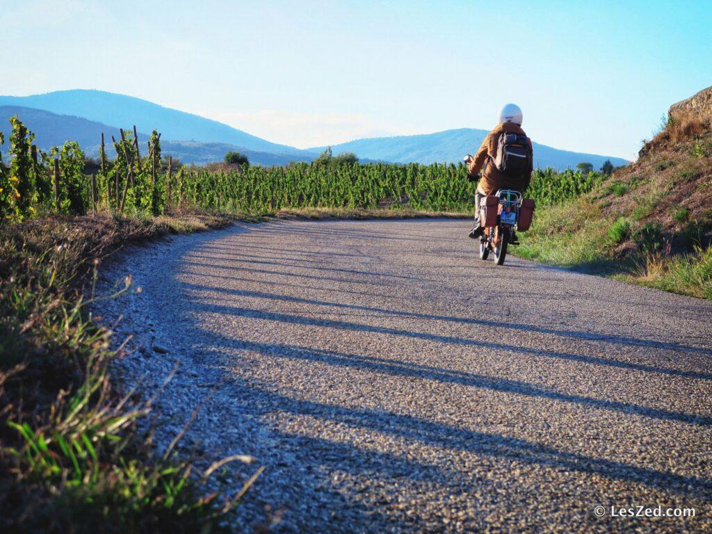 Road trip en mobylette dans le Pilat