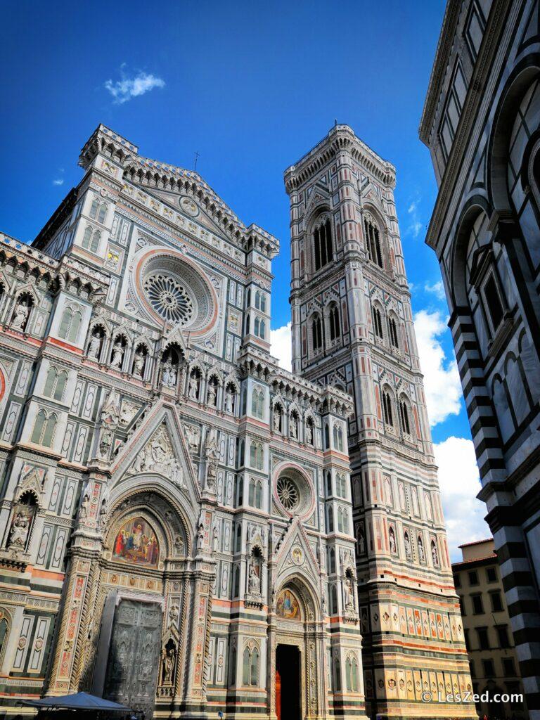 Le Duomo de Florence (la cathédrale Santa Maria del Fiore)
