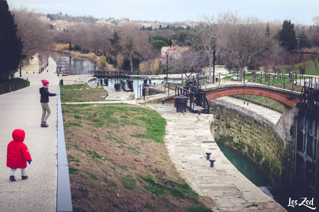 Les 9 Écluses proche de Béziers
